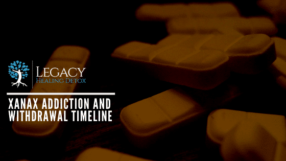 Xanax Addiction and Withdrawal Timeline
