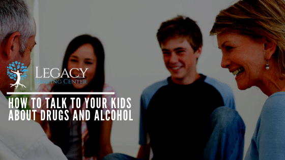 How to Talk to Your Kids About Drugs and Alcohol